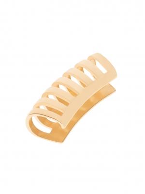 złota nausznica z kółek me19 gold złoto minimalistyczna biżuteria moie