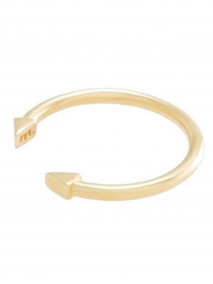 moie Złoty pierścionek strzała minimalistyczna biżuteria moie
