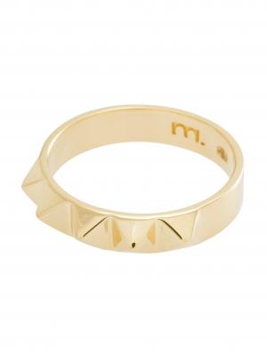 moie Złoty pierścionek obrączka minimalistyczna biżuteria moie